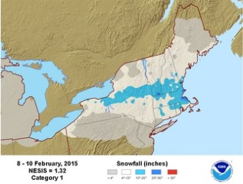 Economic Growth and snowstorms