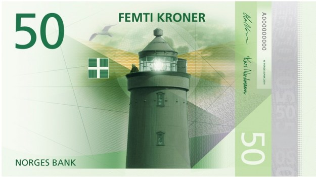 Money Supply Norway front 50 kroner