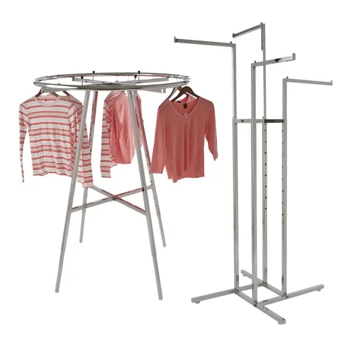 apparel display racks and accessories