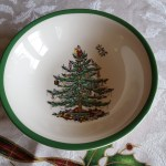 Bowl with Spode Tree