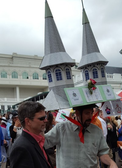 Hat replicating Twin Spires of Churchill
