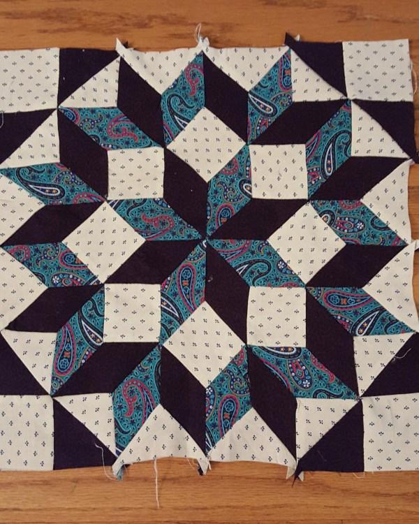 Carpenter's Wheel pattern