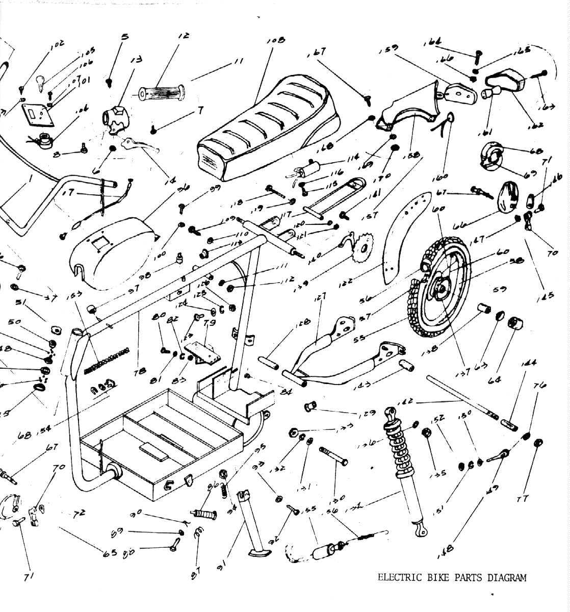 G Moon Pocket Bike Wiring Diagram