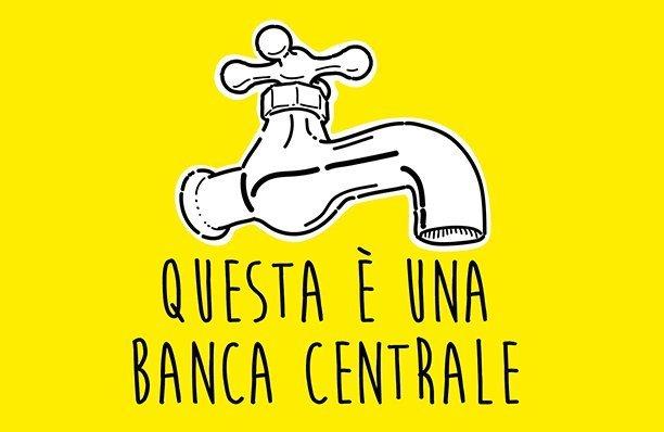 Questo rubinetto è una banca centrale