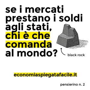 Economia Spiegata Facile su Instagram pensierino n.