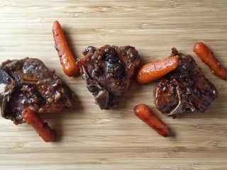 Braised Guinness Lamb Chops