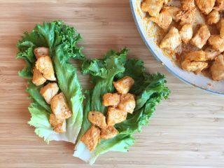 Healthy Buffalo Chicken Bites