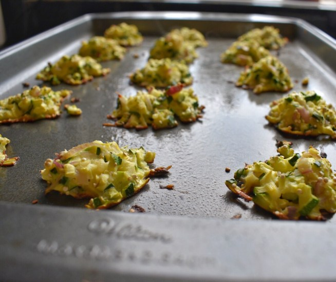 Oven-Baked Zucchini Cakes Bake