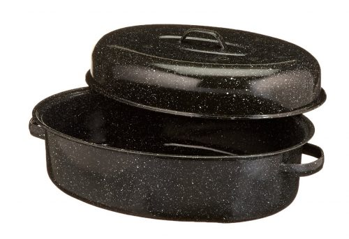 1. Granite Ware 0509-2 18-Inch Covered Oval Roaster