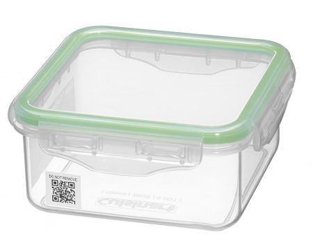 10. Cuisinart Smartrack Square 20 oz Storage Container, Clear