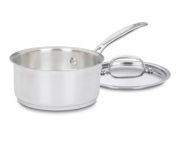 2. Cuisinart 719-16 Chef's Classic Stainless Saucepan with Cover