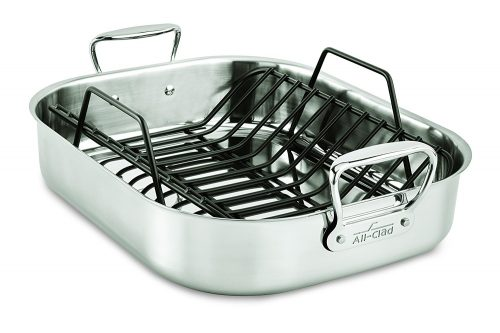 3. All-Clad E752C264 Stainless Steel Dishwasher Safe Large