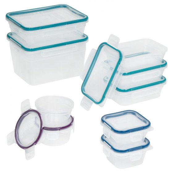 5. Snapware 18-Piece Total Solution Food Storage Set, Plastic