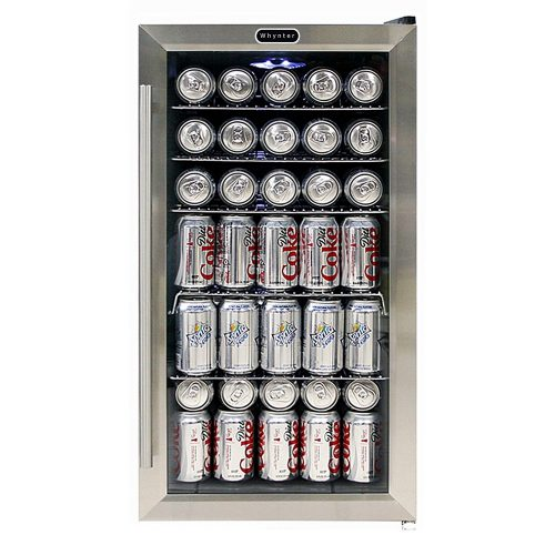Whynter Beverage Refrigerator with Internal Fan