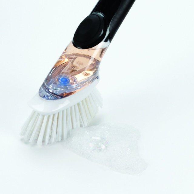 3. OXO Good Grips Soap Dispensing Dish Brush