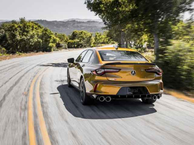 Acura TLX Type S unveiled. While riding shotgun. With Helio Castroneves at the wheel