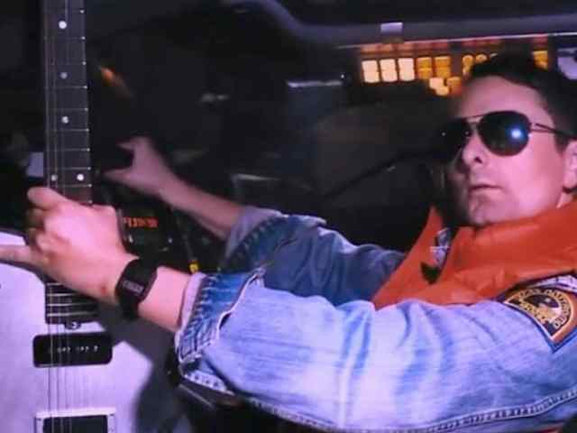 Muse's Matt Bellamy Goes 'Back to the Future' in New Guitar Advertisement
