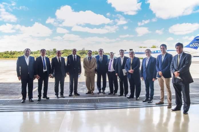 Comitiva de empresários cearenses reunidos com ministros do Governo Federal