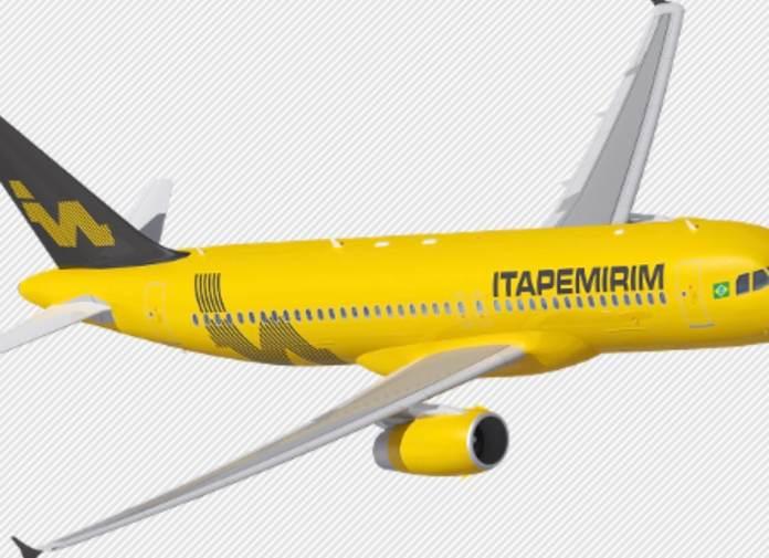 """Avião da Itapemirim terá mais espaço e lanche """"requintado"""""""