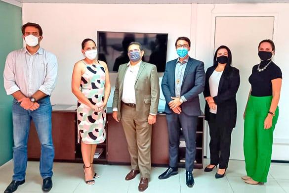 Controladorias de Caucaia e Fortaleza selam parceria para discussão de projetos entre as cidades