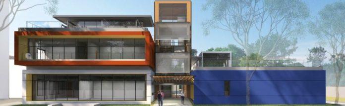 Projeto do edifício que será construído na Escola Politécnica da USP, em São Paulo – Foto: Aflalo & Gasperini