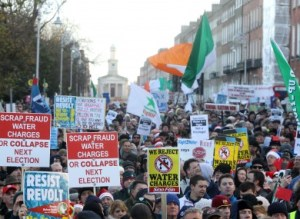 Ireland's Anti-Water Charges Protest 2014
