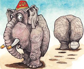 Illustration by KAL