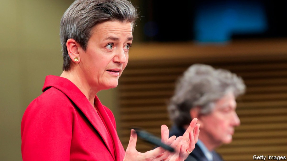Gatekeeping rules - The EU unveils its plan to rein in big tech   Business    The Economist