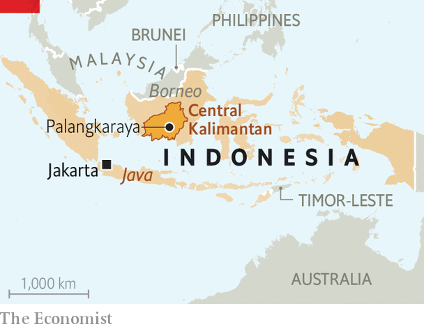 An Extraordinary Move Indonesia Plans To Replace One Unsuitable Capital With Another Asia The Economist