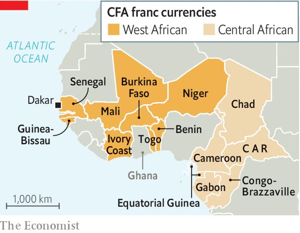 El Franco CFA respaldado por Francia se va. ¿El nuevo ECO será tan estable? áfrica occidental