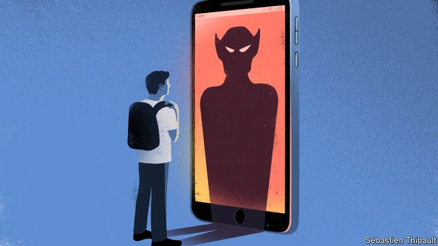 The bully in the black mirror - Why more young Americans are cyber ...