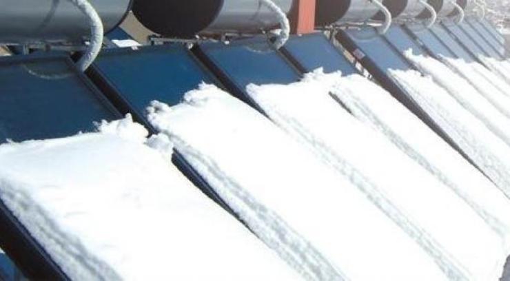 Πώς να προστατεύσετε τον ηλιακό σας θερμοσίφωνα από τον πάγο - Κεντρική Εικόνα