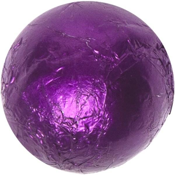 Milk Chocolate Balls - Purple