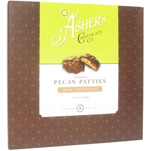 Asher's Chocolate Co. - Caramel Pecan Patties - Milk Chocolate