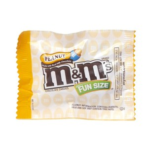 M&M's - Peanut - Fun Size(1)