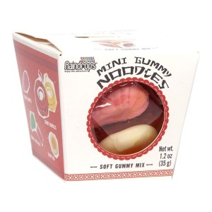 Raindrops Gummy Noodles - Mini _ Tiny Size - 1.2oz