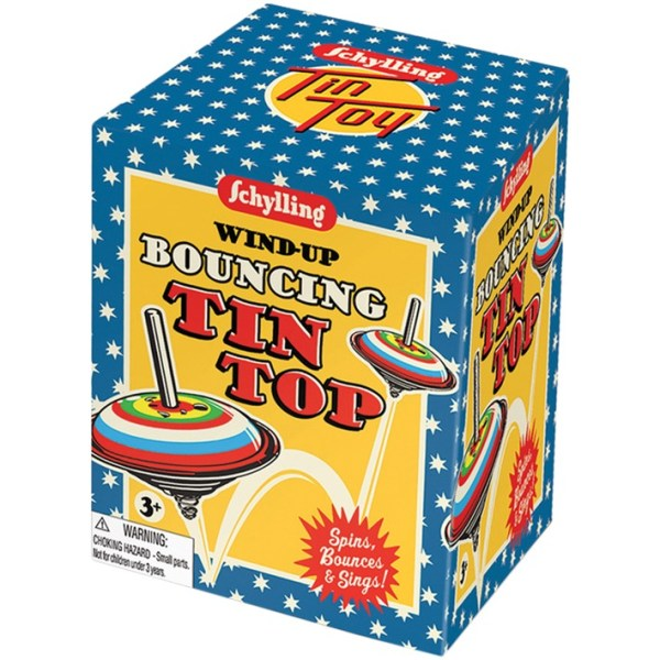 Schylling - Wind-Up Bouncing Tin Top(1)