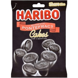 English Haribo Authentic Pontefract Cakes