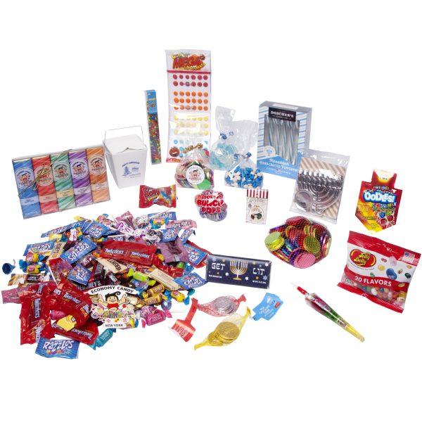 Hanukkah CandyCare Pack - 8 Crazy Nights