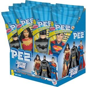 Pez - DC Justice League - 12 Count Box
