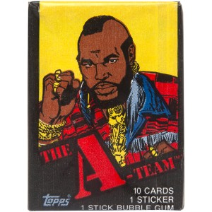 Topps The A-Team Trading Cards