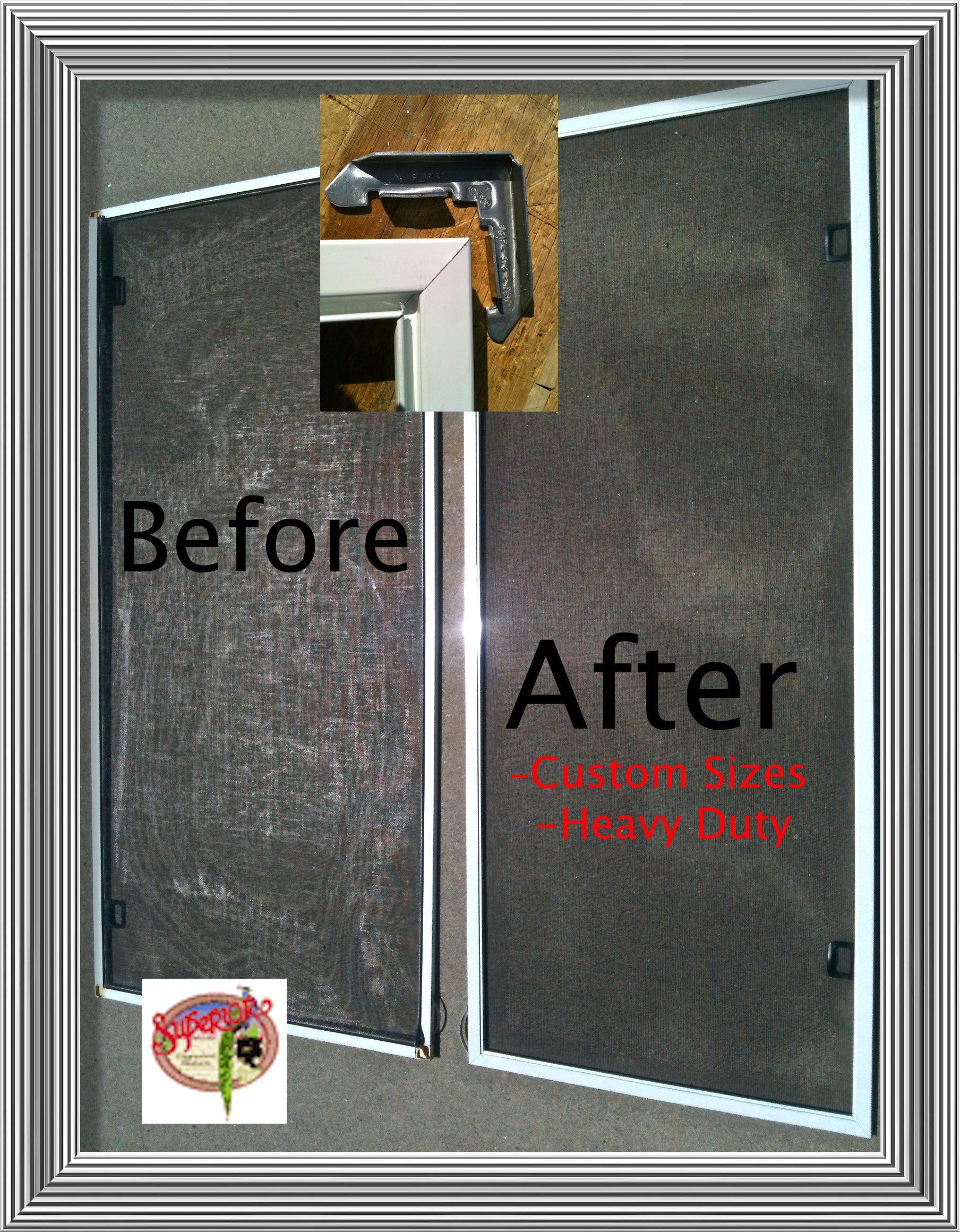 Patio Screen Door Repair Parts