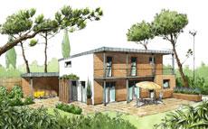 Constructeur CCMI ECOP Habitat : Maison écologique Medium Loft