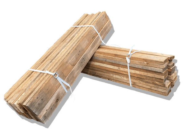 Lot 20 planches 120 cm Largeur 9 cm - planches de palettes