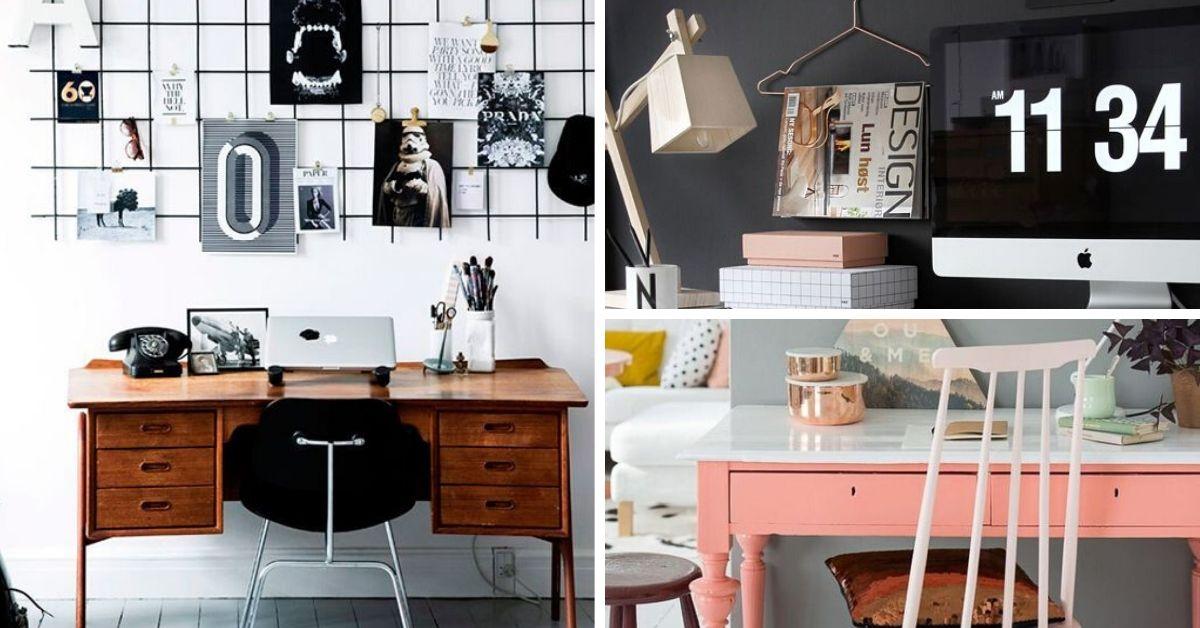 Idees Deco Pour Un Bureau A La Maison