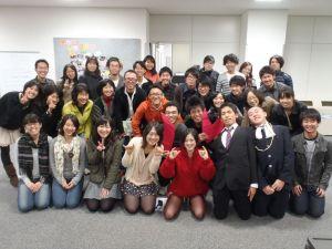 過去にプログラムに参加した人たちもたくさん集まりました!