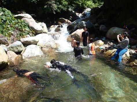 2015夏キャンプ イワナ滝で遊ぶ