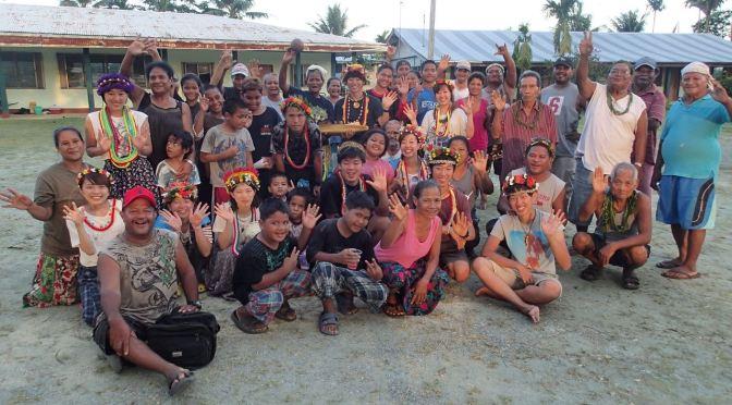 ルム村で温かく迎えていただきましたーーヤップ島プログラム2016