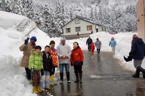 日本の伝統的な暮らしを体験した新潟県南魚沼しの栃窪集落