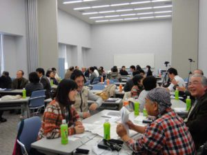 Participants enjoyed exchanging ideas with others.